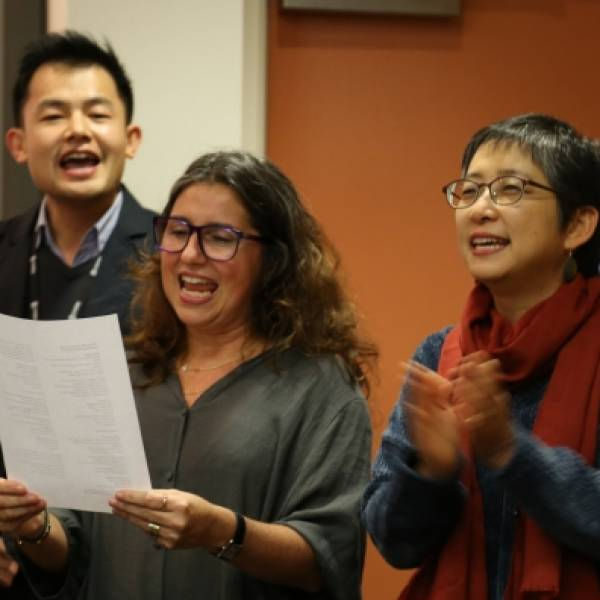 International students thrive in UNSW's unique English language course