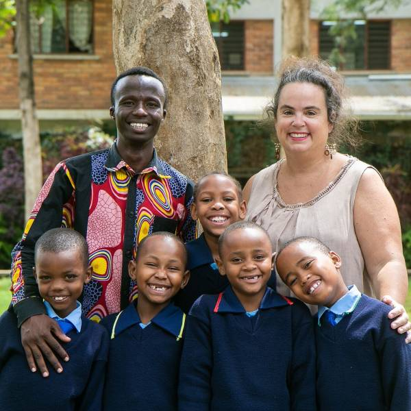 Tanzanian man thanks Australians who helped him get unlikely education