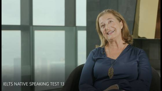 IELTS NATIVE SPEAKING TEST 13