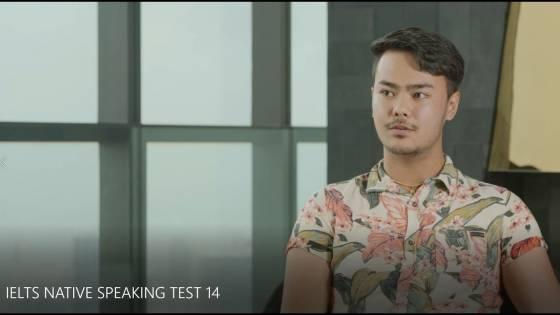 IELTS NATIVE SPEAKING TEST 14