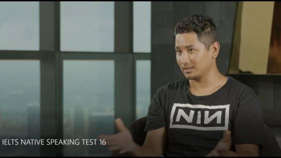 IELTS NATIVE SPEAKING TEST 16