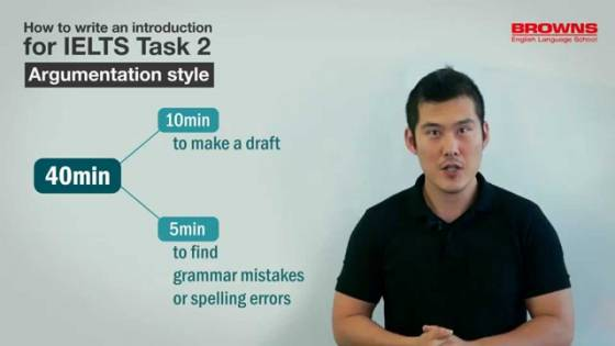 IELTS Writing Task 2 - Introduction (Argumentation Style)