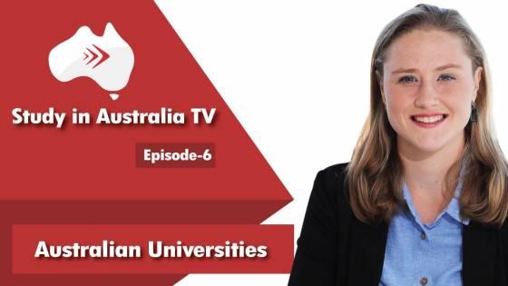Episode 6 Australian Universities
