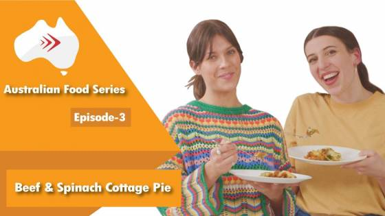 Food Series Ep 3 Beef & Spinach Cottage Pie with Cheddar Mash
