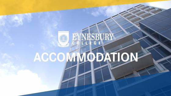 Accommodation options at Eynesbury College